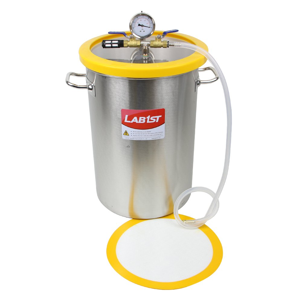 8.4 Gallon 300mm450mm Stainless Steel Vacuum Degassing Chamber - Not for Wood Stabilizing