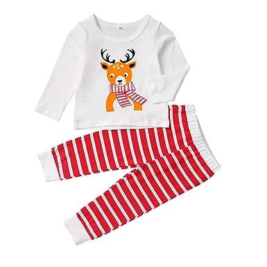 K-Youth Chandal Bebe Niña Conjunto Bebe Niño Navidad Reno Camiseta ...