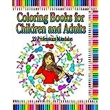 22 Professions Mandalas: Stress Relieving Mandalas (Mandalas Designs Coloring Books Book 3)