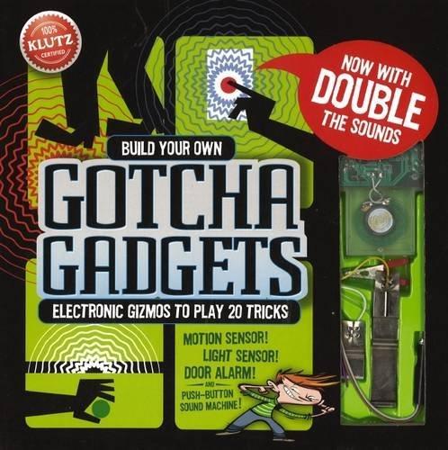 Gotcha Gadgets - Klutz Build Your Own Gotcha Gadgets Science & Activity Kit