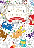 Cute Animals Postcard Book: Color by Numbers (Hobbies and Craft)