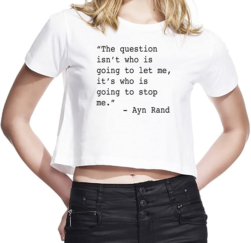 The Question Is Who Is Going To Stop Me Quote WomenÕs