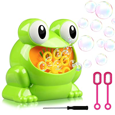 Bubble Machine,Boys Girls Toys Over 500 Bubbles Per Minute Durable Automatic Bubble Blower for Bath Parties Wedding Outdoor Indoor Lawn Games: Toys & Games