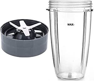 NutriBullet 32oz Cup & Blade Replacement Set, Fits Nutribullet 600W/900W Models