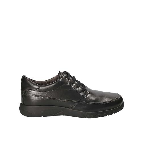 e36add1a4be09e Stonefly Uomo 109694 Sneaker in Pelle Nero  Amazon.it  Scarpe e borse