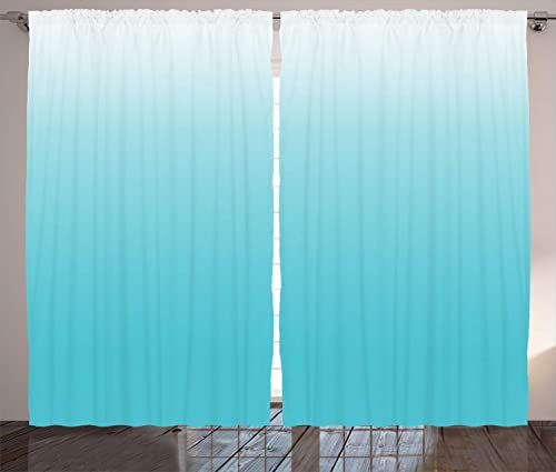 Ambesonne Ombre Curtain