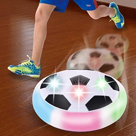 Chocozone Powered Pneumatic Suspended Hover Soccer Ball/Disc with Foam Bumpers and…