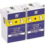 エコリカ エプソン(EPSON)対応 リサイクル インクカートリッジ カラー 2個パック IC5CL06W ECI-E06C2P