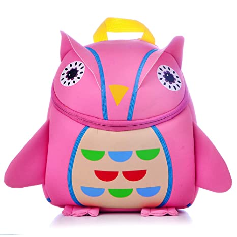 Amazon.com: JJSSGJBB Mochila de estudiante 3D Animal Niños ...