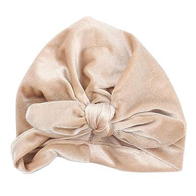 c4c32696723 Moonuy Newborn Winter Soft Cotton Hat Girls Boys Rabbit Ears Headwear Sleep  Cap Headwear Hat Newborn
