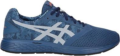 ASICS Patriot 10 Print - Zapatillas de Running para Hombre, Azul (Grand Shark/White), 40 EU: Amazon.es: Zapatos y complementos