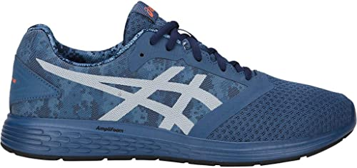 ASICS Patriot 10 Print - Zapatillas de Running para Hombre, Azul (Grand Shark/White), 40 EU: Amazon.es: Zapatos y complementos