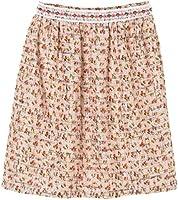 Anna Sui Women'S Blush Rosebuds Tweed Skirt
