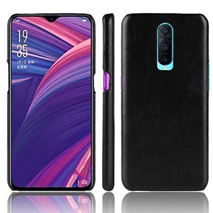 huge discount 413ed 9d921 Amazon.com: Dpowro Oppo R17 PRO Case, Shockproof Back Cover Grip ...
