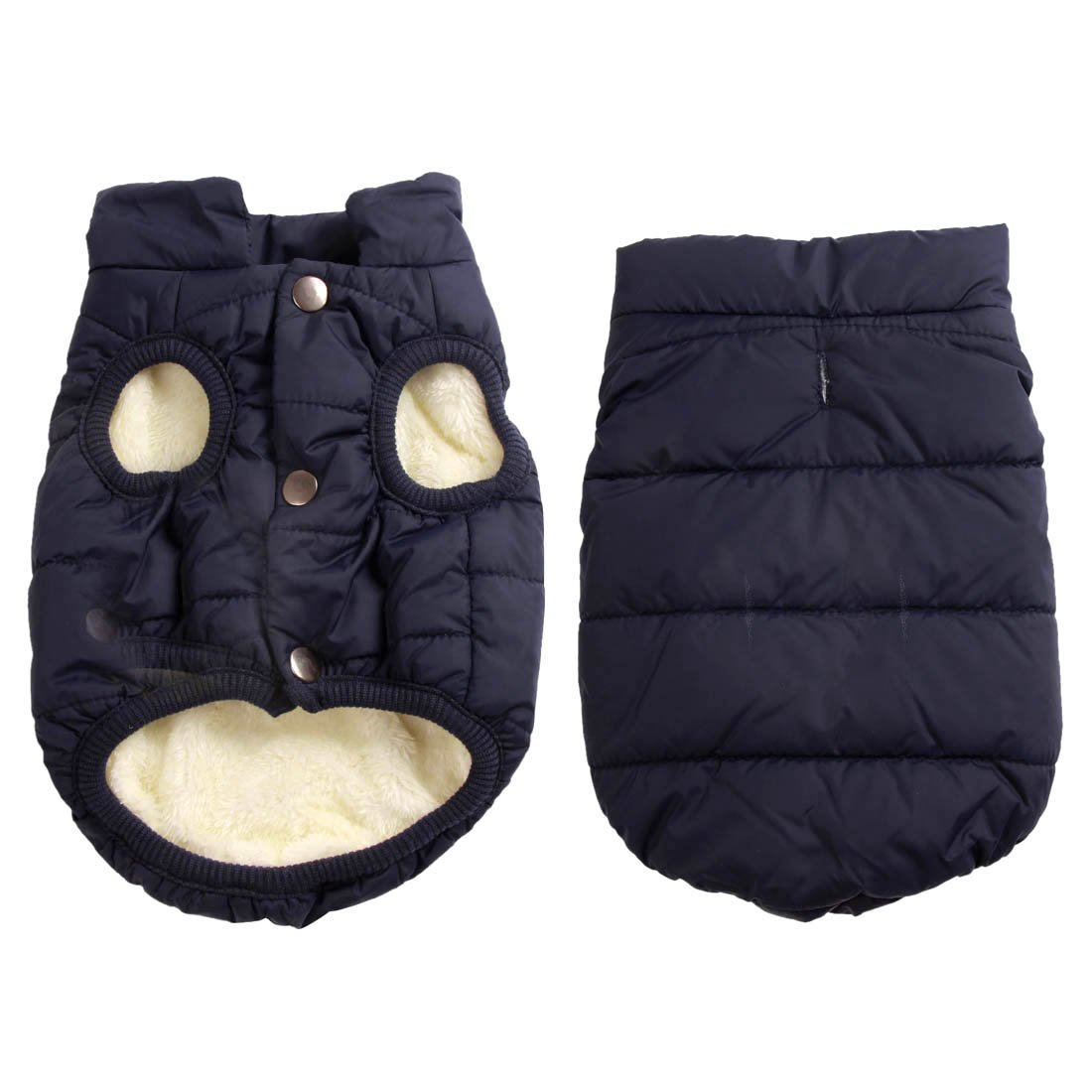 Muy c/álida JoyDaog Chaqueta de Forro Polar para Perro 2 Capas Resistente al Viento para Invierno y Clima fr/ío para Perros Extra Suave