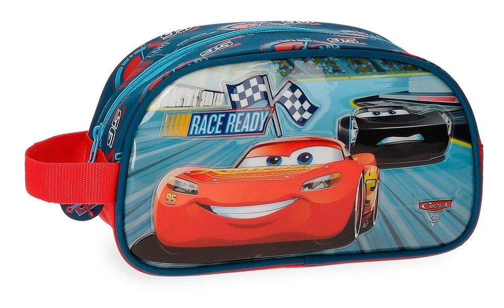 Disney Race Beauty Case da viaggio, 24 cm, 3.36 liters, Multicolore (Multicolor) 2154461