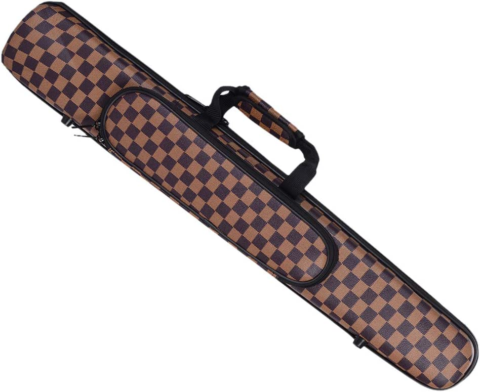 D DOLITY Weather-resistant Clarinet Soprano Saxophone Case Electronic Torch Gig Bag Padded Canvas Coffee