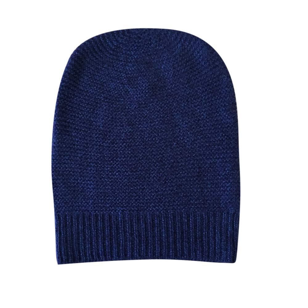 MILICA BOOKS Womens Luxury Cashmere Beanie Hats (Atlantis Blue)
