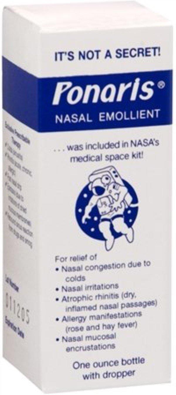 Ponaris Nasal Emollient 1 oz (Pack of 11)