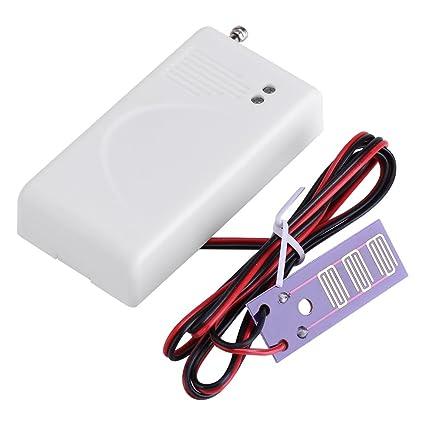 Sensor De Fuga De Agua 433 MHz Detector De Fugas por Desbordamiento De Cable Alarma Electrónica
