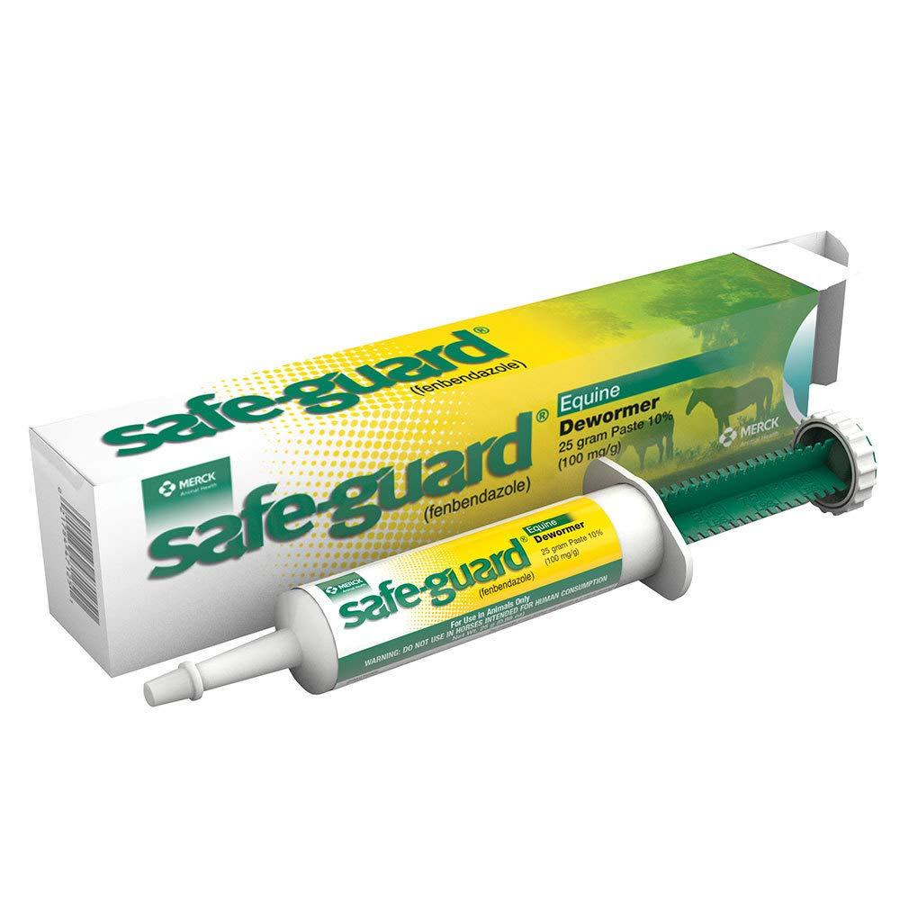 Merck Animal Safe Guard 25 Gram Paste Equine Dewormer 19817383
