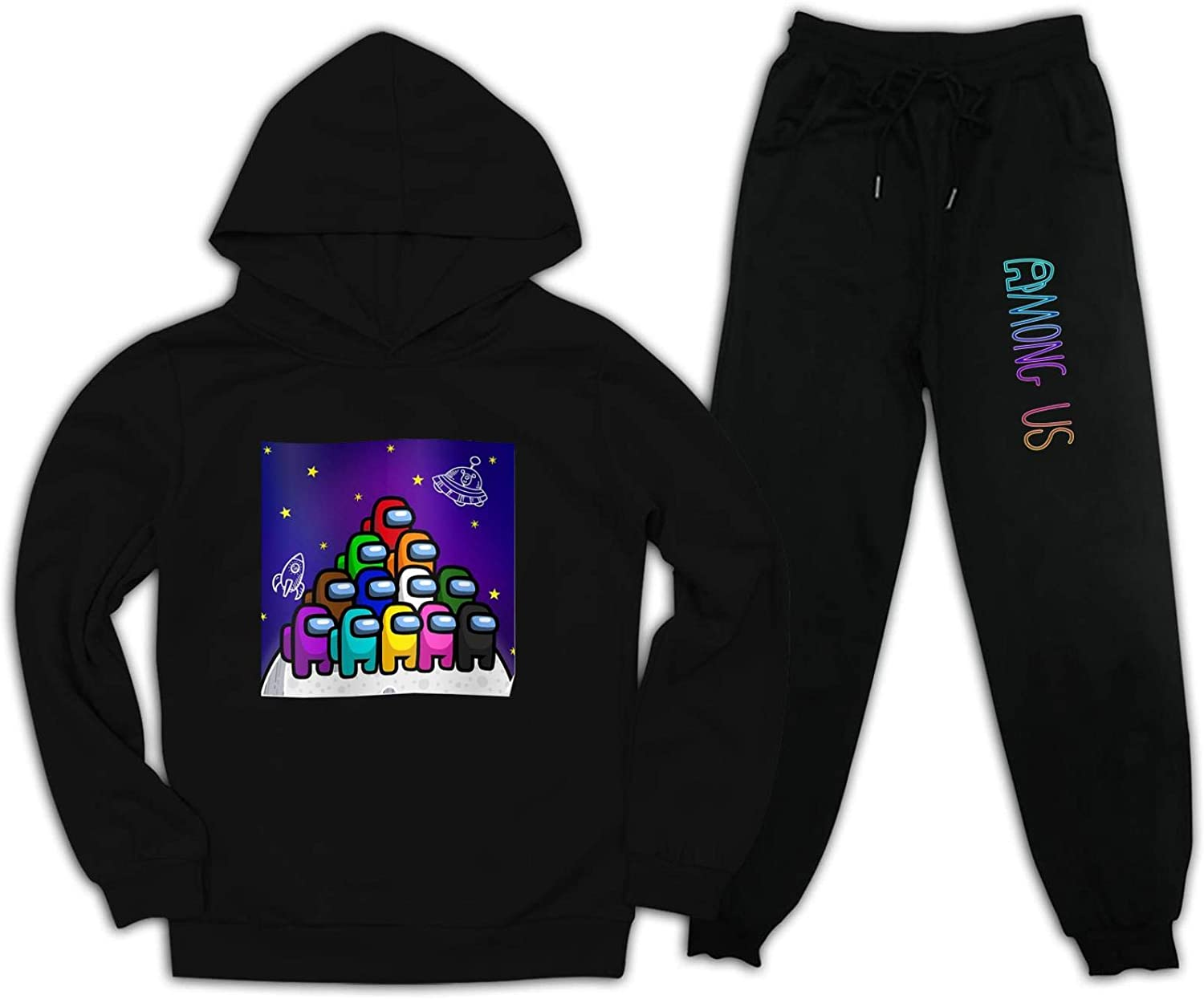 Kid Imposter Among Game Us Pullover Hoodie and Sweatpants Suit...