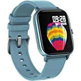 Strong Vibes Reloj Inteligente Smartwatch P8 Bluetooth Pantalla Full Touch IP67 Color Azul