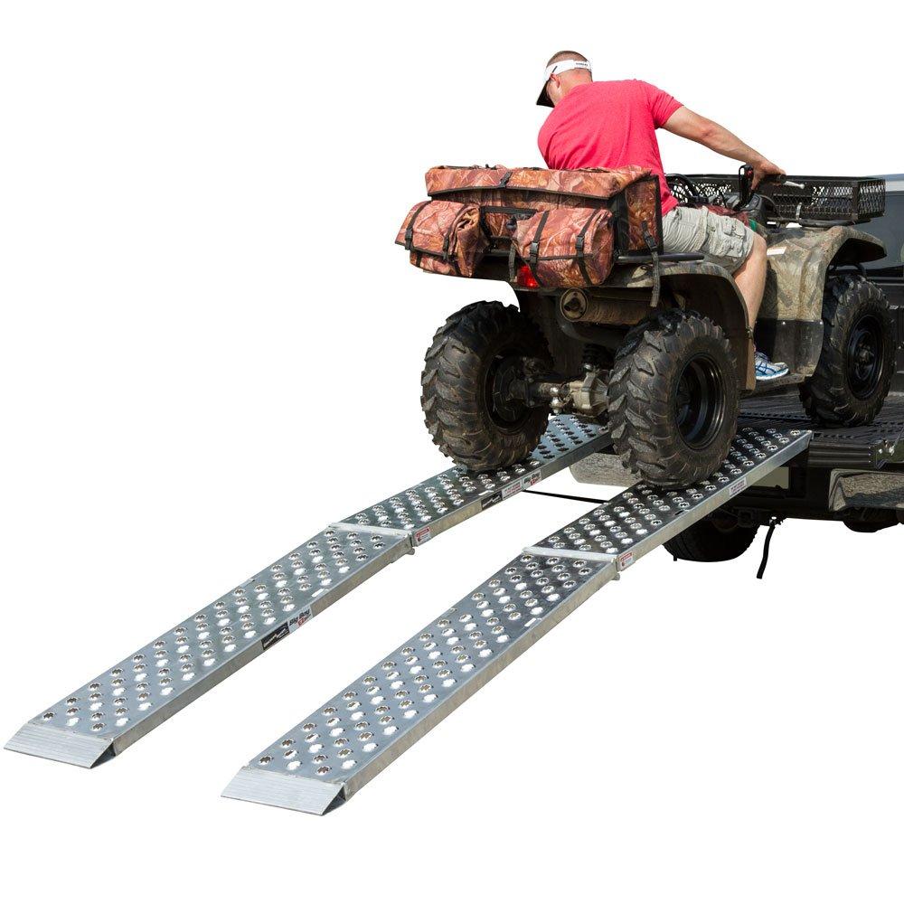 Aluminum Dual Runner 120'' x 14'' Big Boy EZ Rizer ATV Loading Ramps
