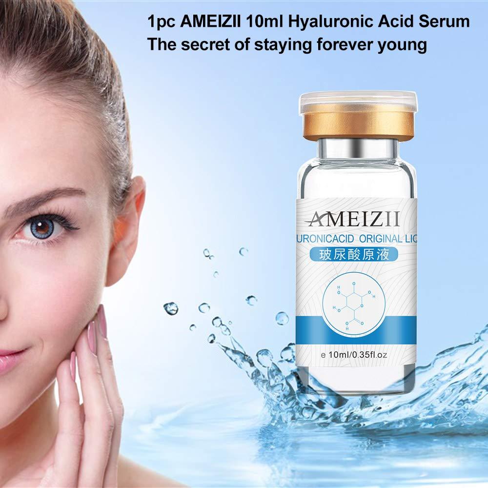 AMEIZII 10ml Hyaluronic Acid Serum Serum Moisturizer For Skin Color Brightening Essence Liquid by Anself (Image #3)
