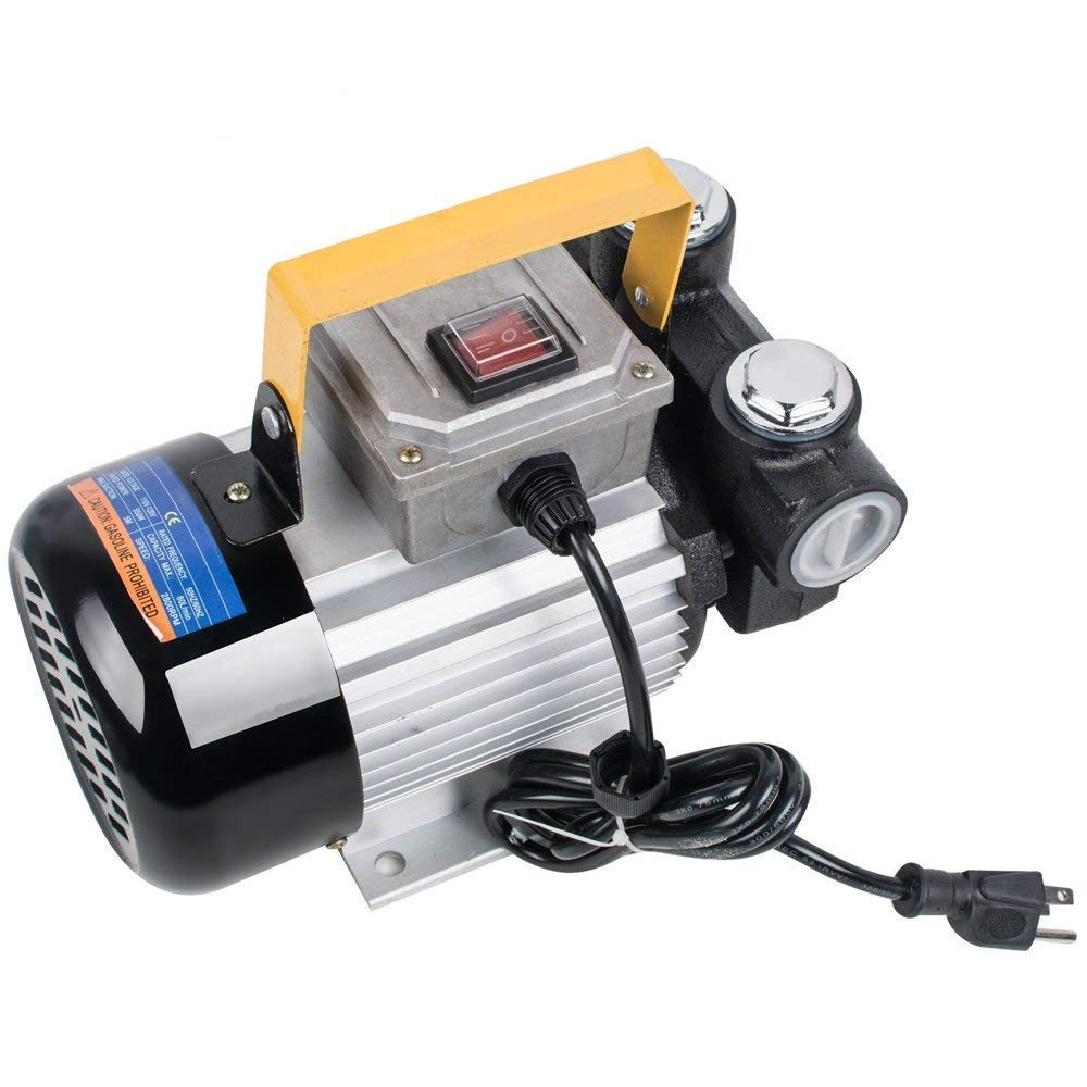 Diesel Transfer Pump Kit Fuel Self Priming Oil 60L/Min Electric Self-priming Diesel Kerosene Oil Fuel Transfer Extractor Pump -Shipping from US, 3-5 business' days