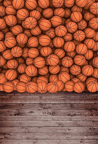 Match Stripes Wallpaper (Leowefowa 3x5ft Vinyl Basketball Field Background Retro Stripes Wood Floor Sports Theme Photography Backdrop for Students Boys Party Decoration Wallpaper Students Boys School Match Photo Studio Props)
