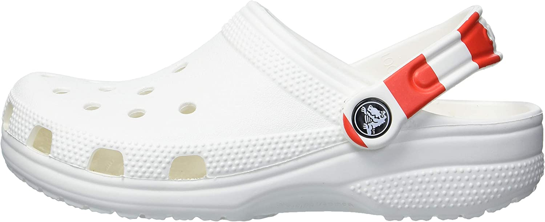 Crocs Mens and Womens Classic American Flag Clog Comfort Slip On
