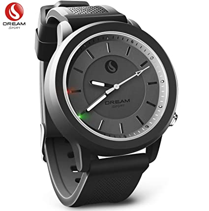 DREAM SPORT Hybrid Smart Watch,Analog Smartwatch with Bluetooth & 3 ATM  Waterproof - Hybrid Smartwatches Calories and Step Counter Sleep Monitor