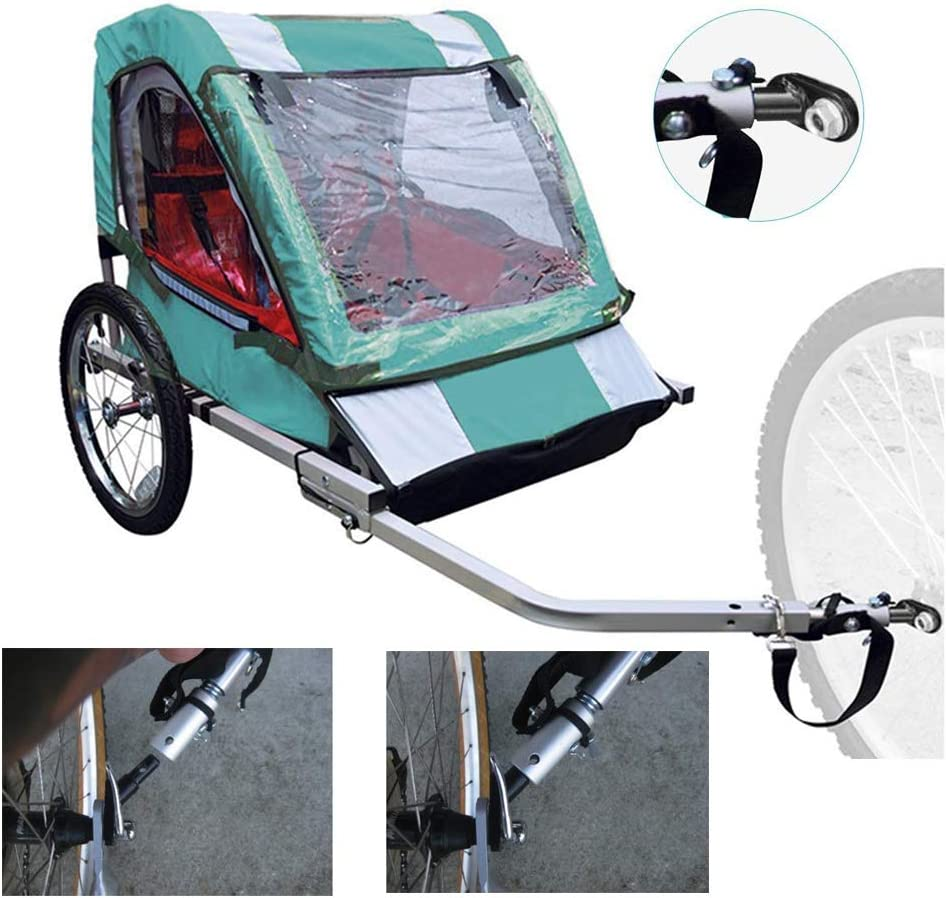 Cycling Bicycle Trailer Part Parts Alloy Bike Mounted Replacement Metal