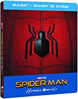 Spider-Man: Homecoming (BD + BD Extras) (Edición Especial Metal) (Con Comic) [Blu-ray]