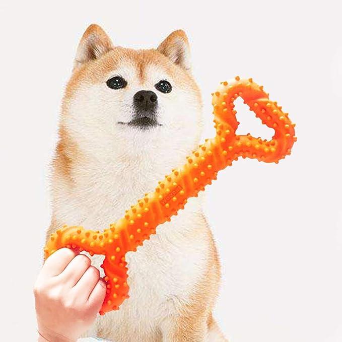 ghfashion Juguete para Masticar de Goma para Perros Divertido y Colorido