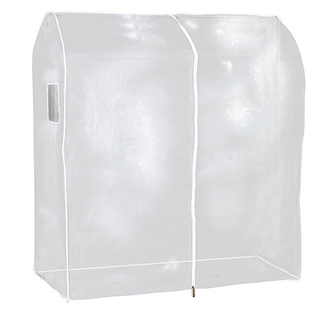 Hangerworld - Funda protectora perchero Burro Portátil 120cm, Transparente