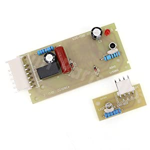 4389102 Ice Maker Control Board Replacement Kit Emitter Board & Receiver Board, for Whirlpool Kenmore Maytag Emitter Sensor Refrigerators. Replaces PS557945, ADC9102, AP3137510