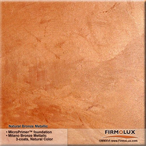 Milano Bronze Metallic (Fine) Authentic Venetian Metallic Plaster from Italy. The ultimate in luxury finishes. by FirmoLux (Image #1)