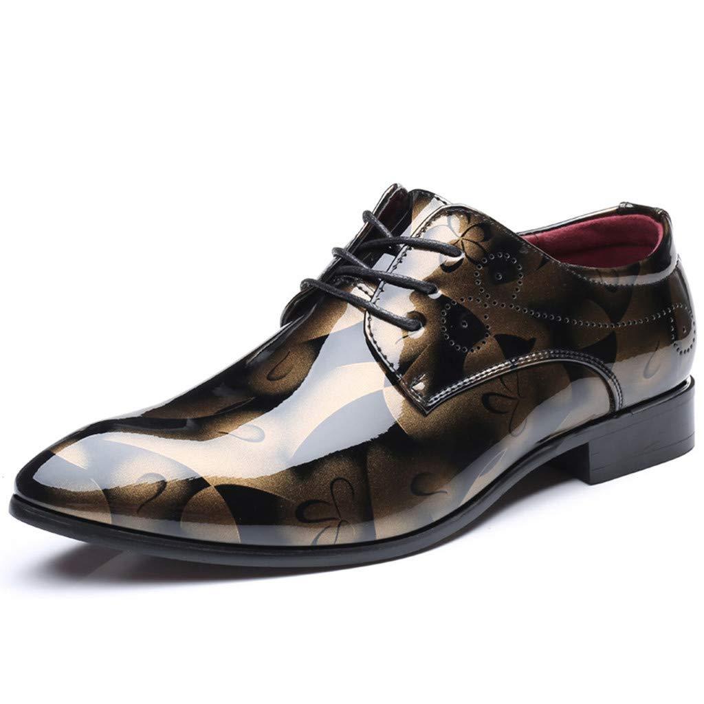 [OcEaN Shoes] メンズ B07Q2YX581 ゴールド 6 M US