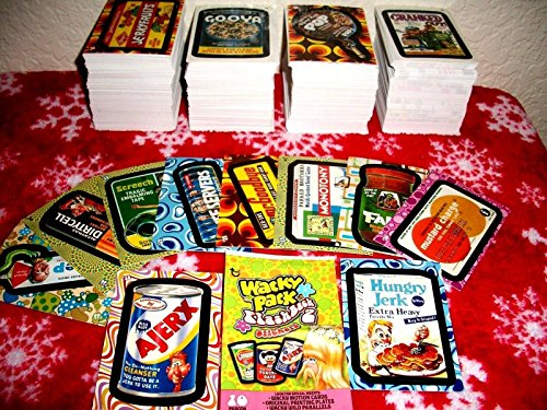 (Wacky Packages 2008 FLASHBACK SERIES 2 {FB2} LOT OF THIRTY DIFFERENT STICKERS + 2 CEREAL KILLER CARDS.)