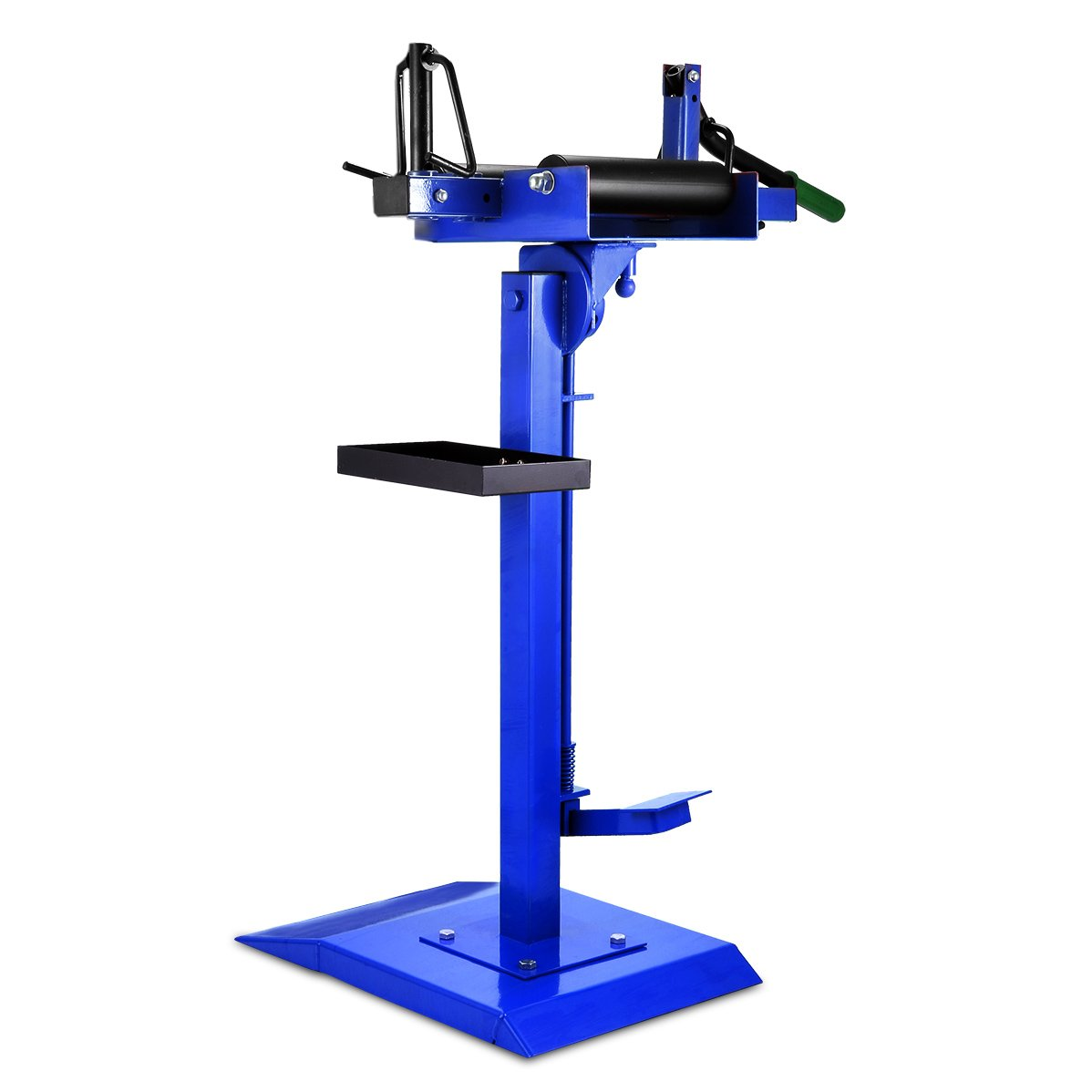 Mophorn Manual Tire Spreader Portable Tire Changer with Stand Adjustable Tire Spreader Tool for Light Truck and Car (Tire Spreader)