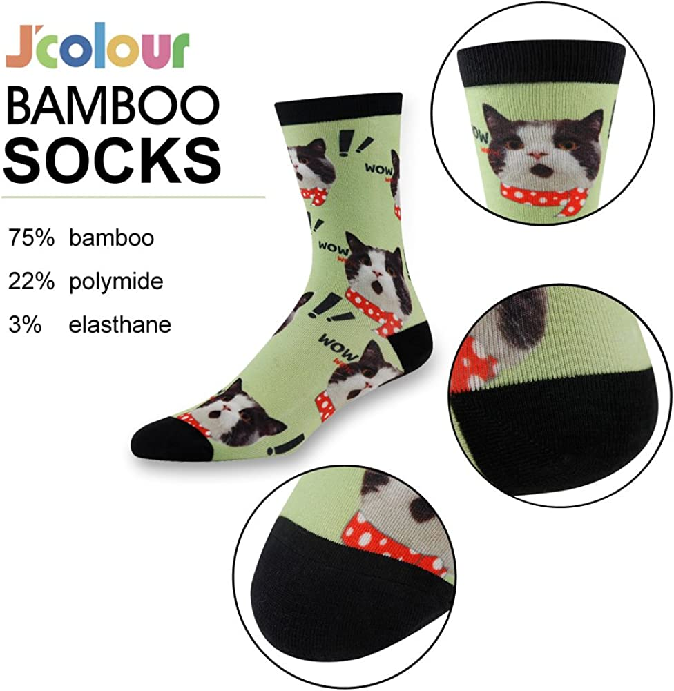 Cat Meow Seamless Pattern Casual Socks Crew Socks Crazy Socks Soft Breathable For Sports Athletic Running