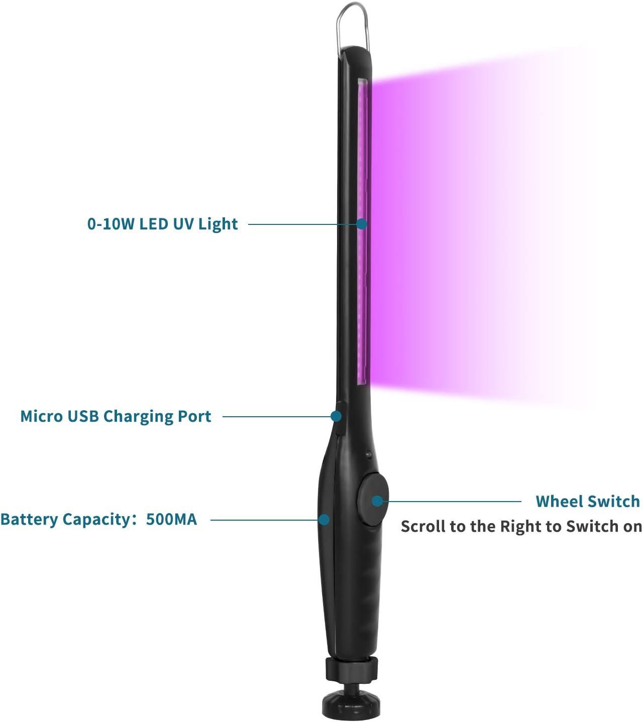 WC casa armadio auto Sterilizzatore portatile con luce UV Hanmir per hotel