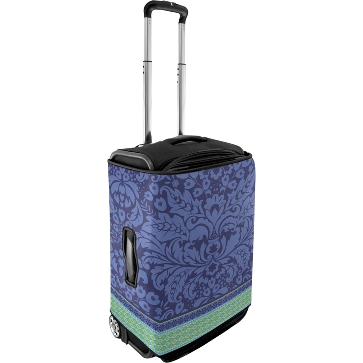 Amazon.com | CoverLugg Large Luggage Cover - Violet Flowers ...