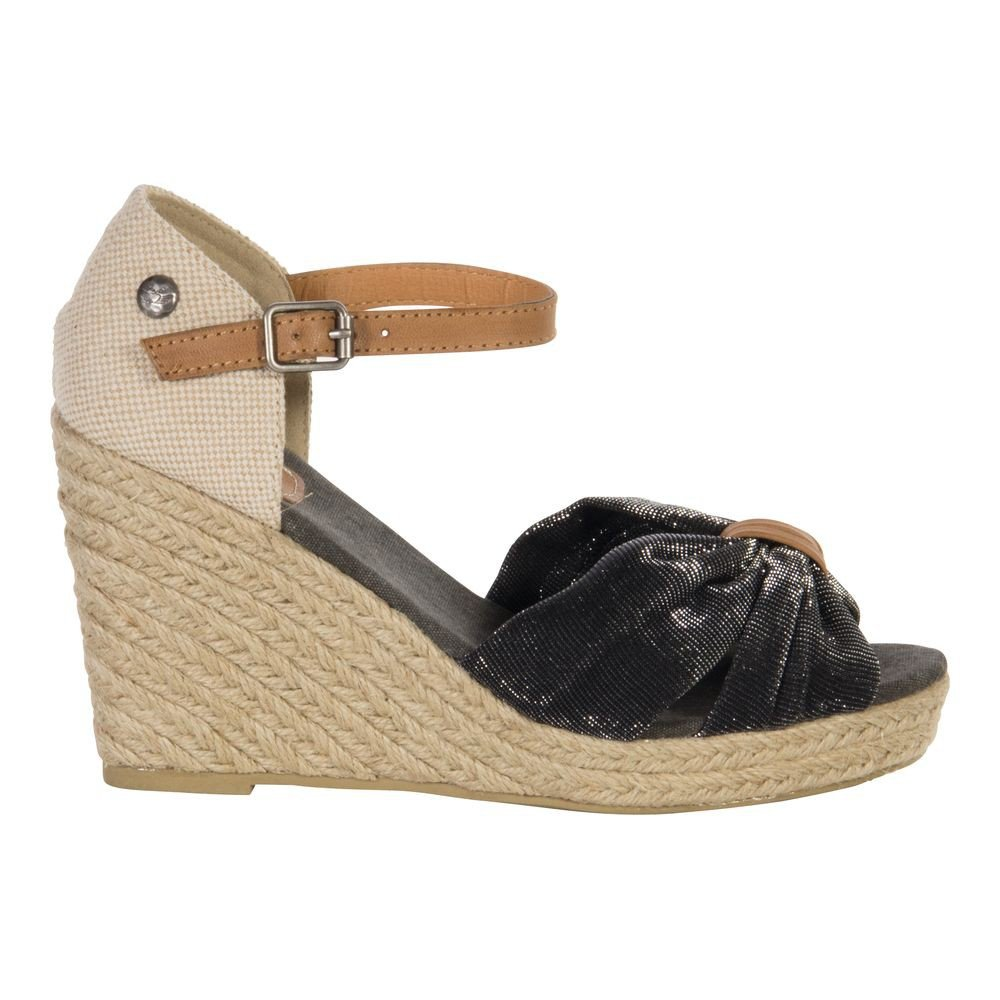 S1675801 Wedg03 nude Wedge Sandale Schuhe, Size:40 EU Fritzi Aus Preußen