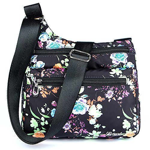 STUOYE Nylon Multi-Pocket Crossbody Purse Bags for for sale  Delivered anywhere in USA