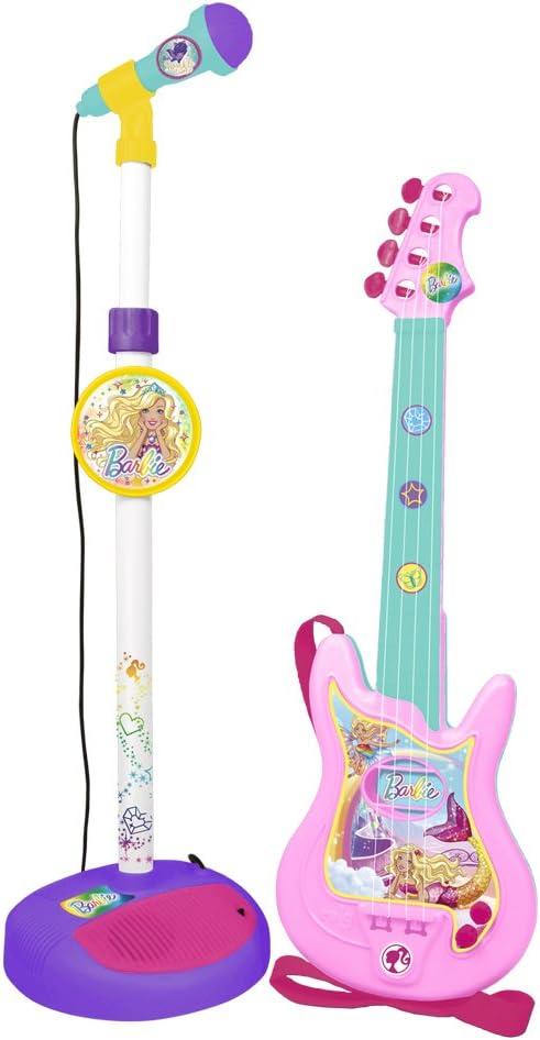 CLAUDIO REIG- Barbie Mattel Micrófono y Guitarra (4400): Amazon.es: Juguetes y juegos