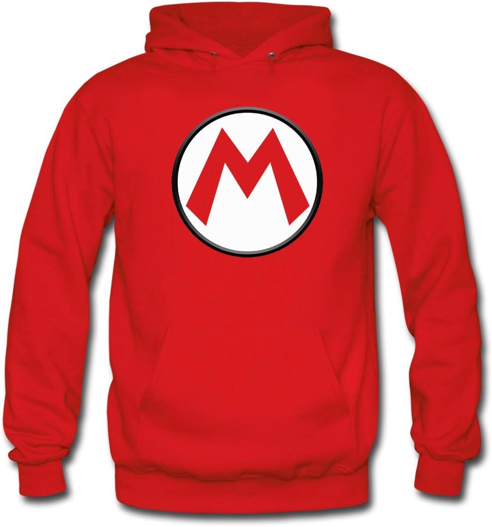 Mx Games Sudadera Mario Bros con el diseño Logo M (Talla: 7-8 años ...