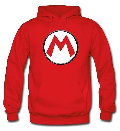 """Sudadera Mario bros con el diseño logo""""M"""" ..."""